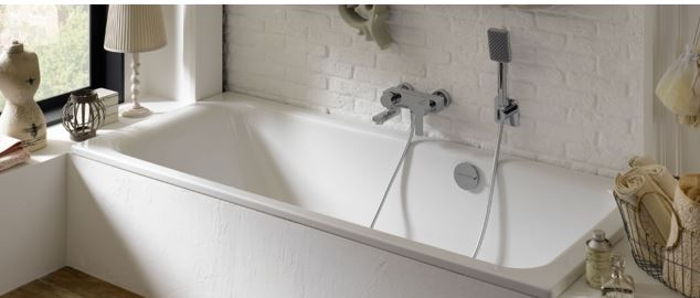 Bette Select 170x75 double ended steel bath