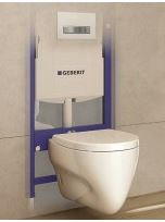 Geberit concealed cistern for wall hung