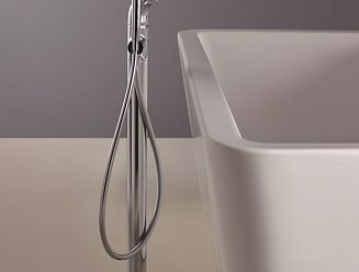 Taps for free standing baths