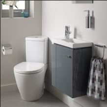 Ideal Standard Concept Space cloakroom set